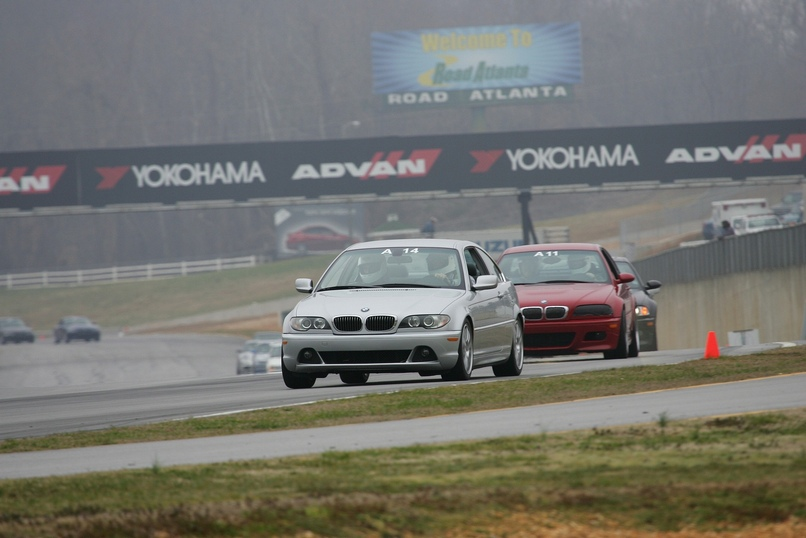 Road Atlanta, turn 1